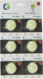 Greaves 0.5 W L16 SO6 LED Bulb White (pack of 6)