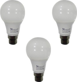 5 W LED Bulb B22 White (pack of 3)