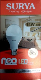 Surya 4W White 1260 Lumens LED Bulbs