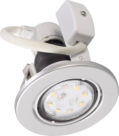 4W Innova Grid RD Swivel LED Bulb (White)