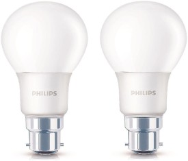 Philips Ace Saver 6W LED Bulb (White, Pack of 2)