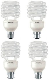 Tornado Spiral 23 Watt CFL Bulb (Cool Day Light,Pack of 4)