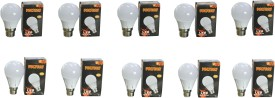 Engineerings 5 W LED Bulb B22 White (pack of 10)