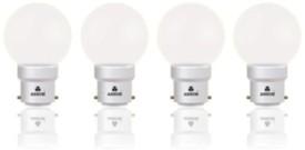 Ashim Twilight 0.5W LED Bulb (White, Pack Of 4)