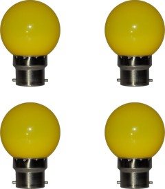 RayZun 0.5W Yellow LED Bulb (Pack of 4)
