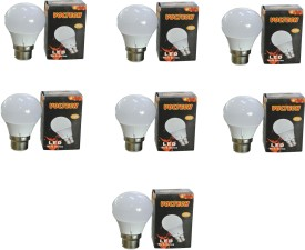 Engineerings 3 W LED Bulb (White, Pack of 7)