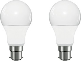 Ariva 5W LED Bulb (White, Pack of 2)