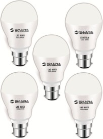 Saara 5 W 11005 LED JAYO Bulb B22 Cool White (pack of 5)