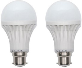 Orient 7W White LED Bulb (Pack of 2)