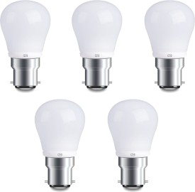4W Cool White LED Bulbs (Pack Of 5)