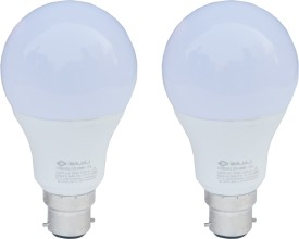 Bajaj 12 W LED CDL B22 HPF Bulb White (pack of 2)