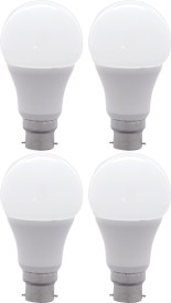 10W B22 LED Bulb (Yellow, Set Of 4)