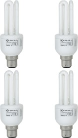 Miniz 3U 15 W CFL Bulb (Pack of 4)