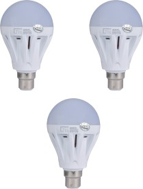 Lite India 5 W LED Bulb (White, Pack of 3)