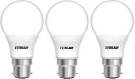 2.5 W LED cool daylight B22 Bulb White (pack of 3)