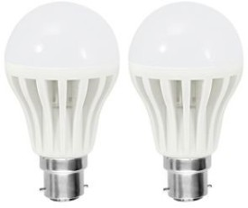 12W White LED Bulbs (Pack Of 2)