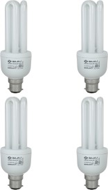 20 W 3U Ecolux CFL White Bulb (Pack of 4)