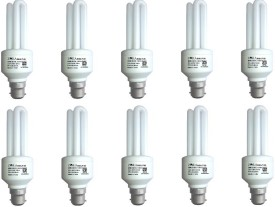 20 W CFL Bulb (White, Pack of 10)