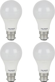 Halonix 7 W LED Bulb B22 White (pack of 4)