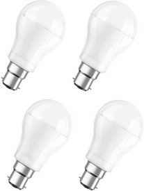 6 Watt White LED Bulb (Pack of 4)