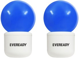 0.5W Plug and Play Blue Deco LED Bulb (Pack of 2)