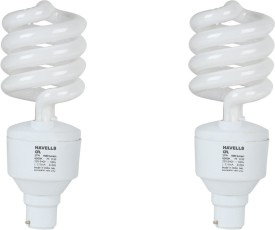 SP 27W CFL Bulb (Warm White and Pack of 2)