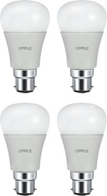 4W LED Bulb (White, Pack of 4)