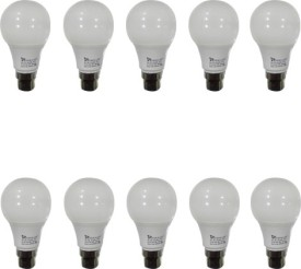 Syska 5W White Led Pa Bulbs (Pack Of 10)