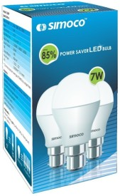 Simoco 7W B22 LED Bulb (White)
