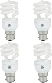 Smartlite Mini Twister 12W CFL Bulbs (White, Pack of 4)