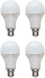 Jmt Plus 15W Plastic 450 Lumens White LED Bulb (Pack Of 4)