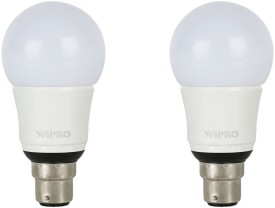 Wipro 9 W garnet LED Bulb B22 White (Pack of 2)