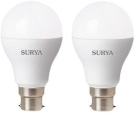 Surya Roshni Ltd 9W White LED Bulbs (Pack Of 2)