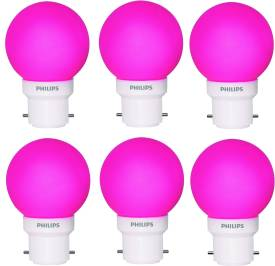 0.5-W-LED-Deco-B22-IND-Bulb-Pink-(pack-of-6)