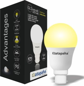6W LED Glass Bulb (Yellow)