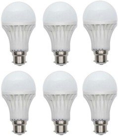 Litonixled 18W B22 LED Bulb (White, Set of 6)
