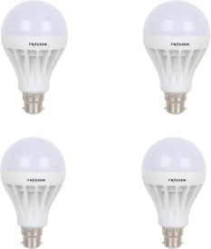 FRAZZER 18W LED Bulb (White, pack of 4)