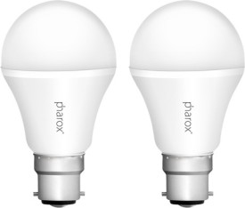 Pharox 5W B22 Apollo Led Bulb (Cool White, Set Of 2)