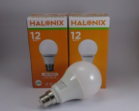 Halonix 12 W LED B22 Astron Yellow Bulbs (pack of 2)