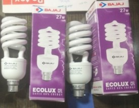 Twister Ecolux 27 W CFL Bulb (Pack of 2)