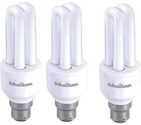 9 W CFL Bulb (Cool Bright Light Pack of 3)