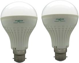 Super Bright 7W LED Bulbs (White, Pack of 2)