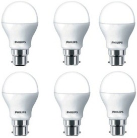 Philips 14 W B22 Base 1260L White LED Bulb (Pack of 6)