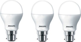 Philips 14 W LED Spiral Bulb B22 White (pack of 3)