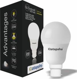 L4 4W Glass White LED Bulb