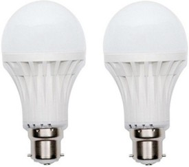 9W 400 lumens Cool Day Ligh LED Bulb (Pack Of 2)
