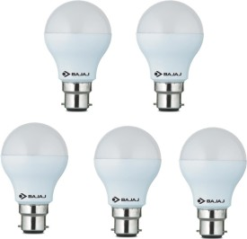 7W White LED Bulb(Pack Of 5)