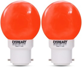 Eveready 0.5W Deco UP LED Bulb (Red, Pack of 2)