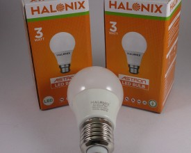 Halonix 3W Cool White LED Bulbs (Pack Of 2)