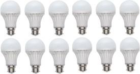 9W 400 lumens Cool Day Ligh LED Bulb (Pack Of 12)
